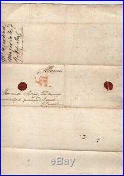 Mazarin / Lettre Signée (1645) / Vengeance / Anne D'autriche / Richelieu