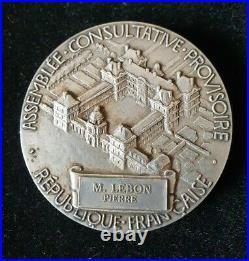 Médaille de l'Assemblée Consultative Provisoire