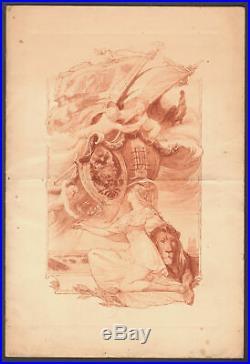 Menu. Déjeuner à Bétheny. 1901. Loubet Tsar Nicolas II. Russie. Guillonnet Stern