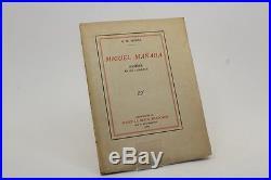Milosz Miguel Mañara Eo 1913 1/20 De Tête Numérotés Sur Vergé D'arches