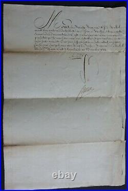 Ministre de Louis XVI, Mrchl de SEGUR autographe 1780 / LETTRES de CACHET