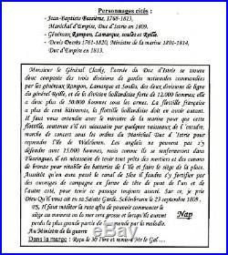 NAPOLEON 1er SIGNATURE AUTOGRAPHE de SCHÖNBRUNN le 23 septembre1809