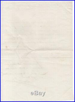 NAPOLÉON Alexandre BERTHIER Lettre autographe signée 6 mai 1812