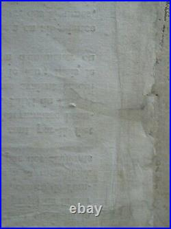 NAPOLEON PLACARD 1812 INCENDIE DE MOSCOU, Te Deum victoires russes