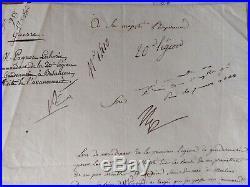Napoléon BONAPARTE autographe 1806