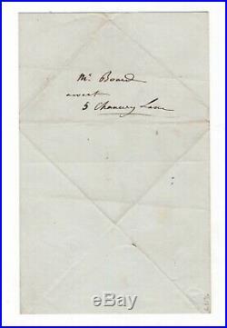 Napoléon III / Lettre Autographe (1845) / Fort De Ham / Second Empire / Prison