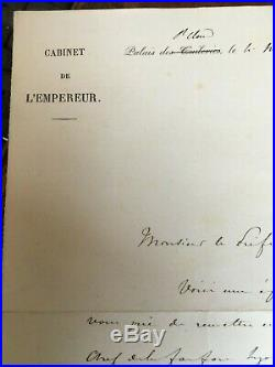 Napoléon III Sous-main De La Princesse Mathilde Letizia Wilhemine Bonaparte 1848