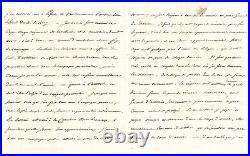 Napoleon Ier Lettre Signée Amsterdam 1811 Artillerie Cologne Bonn
