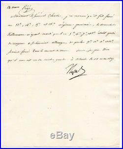 Napoléon / Lettre Signée (1807) / Bataille D'eylau / Osterode / Berlin