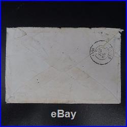 Napoléon N°27 Bande De 5 Lettre Cover Gc 4158 Versailles Qtier Notre Dame Paris