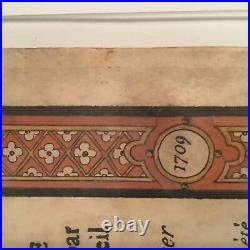 Ordonnance des armoiries de Morlas portant signature dHozier