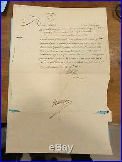 Ordre Militaire De Saint Louis Signe Louis XVI Pour Dugommier Guadeloupe 1780
