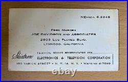 Original Autograph John Wayne