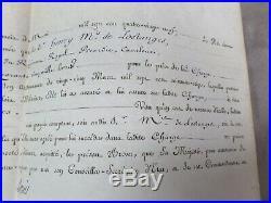 PARCHEMIN daté de mai 1789, signé LOUIS XVI