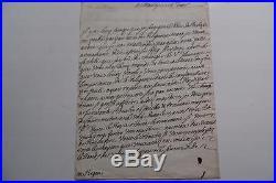 PHELYPEAUX DE PONTCHARTRAIN L. A. S A MICHEL BEGON PORT DE ROCHEFORT c. 1700