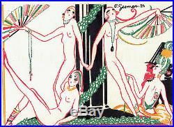 PS6205 PROGRAMME'LA GRANDE REVUE OLYMPIQUE'. C. GESMAR. CASINO DE PARIS. 20's