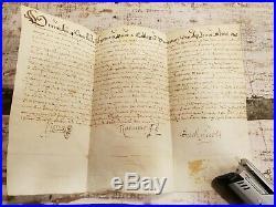 Parchemin Diplome Universitaire A Traduire 1619