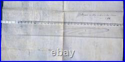 Parchemin Directoire An 4 San Remo 1796 Guerre Italie Revolution Francaise Rare