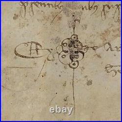 Parchemin Manuscrit. Sur Un Moulin. Catalunya  Espagne. 1351
