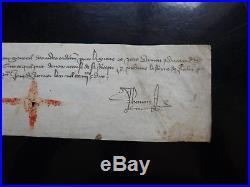 Parchemin, Moyen-Age, 1390, manuscrit pour la Reine de Jérusalem et de Sicile