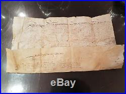 Parchemin Signe Louis XIII Troubles Aix En Provence Revoltes Des Cascaveous 1630