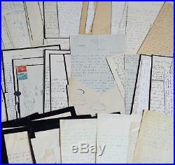 Passionnante correspondance de 72 lettres de Roger Peyrefitte à son éditeur