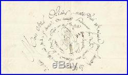 Paul De Kock (1793/1871). Romancier, Librettiste. L. A. S. De 1849