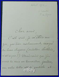 Pierre LOTI autographe