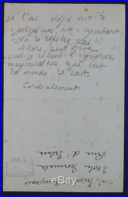 Pierre LOUYS autographes