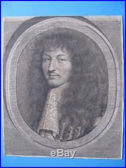 Portrait de Louis XIV en 1664 par Robert Nanteuil