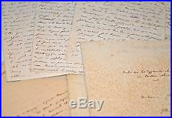Près de 450 pages manuscrites d'un voyage à travers la Russie en 1839-1840
