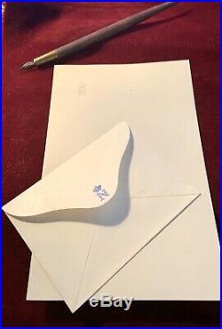 Prince Impérial Papier A Lettre + Enveloppe Vierge A Son Chiffre