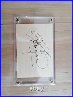 Prince Nelson Love Symbol Signed Autograph No Promo