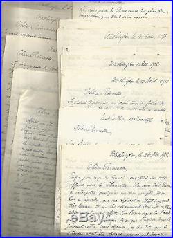 Princesse Catherine Radziwill (1858-1941) 19 Lettres Autographes Signees G207