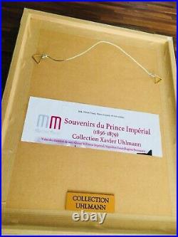 RARE Authentic HISTORIC Original GLOVES of PRINCE IMPERIAL NAPOLEON III