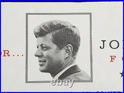 Rare John F Kennedy Pour President Signé Jfk Autographe Autopen Sénat Lettre USA