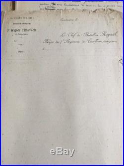 Rarissime Journal manuscrit du Commandant Raynal bataille du Fort de Vaux Meuse