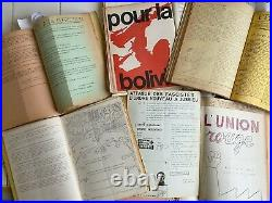 Rarissime Plus De 700 Tracts d'époque Concernant La Période De Mai 68 Et La Guer