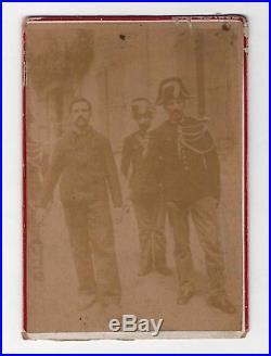 Ravachol / Photographie D'époque (1892) / Prison / Anarchisme /