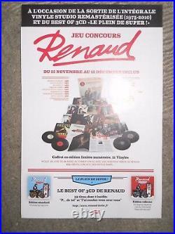 Renaud Coffret 21 Vinyles Integrale Studio 1975/2010+ Picture Disc