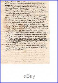 Revolution Francaise / Manuscrit Autographe De Joseph Le Bon/ Pendant Son Proces