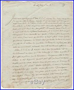 Revolution / Lettre Autographe De Bourdon / Juin 1792 / Lafayette / Louis XVI