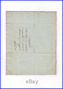 Révolution / Lettre D'un Citoyen Emprisonné (1793) / Convention Nationale