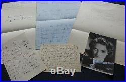 Sacha GUITRY & ses cinq épouses autographes / Exceptionnel ensemble