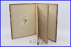 Sacha Guitry Manuscrit Autographe Noël 1922 Pour Les Enfants Dans Les Ruines