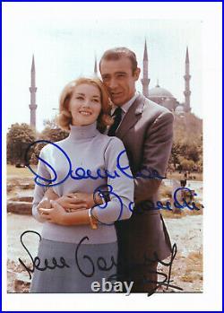 Sean Connery Daniela Bianchi James 007 James Bond Autographe Autograph COA