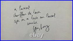 Serge GAINSBOURG Pièce autographe signée