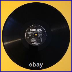 Serge Gainsbourg (1928-1991) Rare album vinyle dédicacé à Paris Années 80