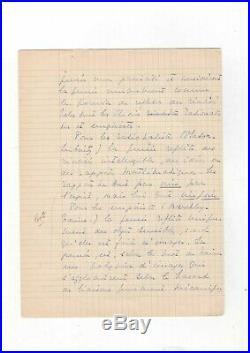 Simone De Beauvoir / Devoir De Psychologie Corrigé (1936) / Existentialisme