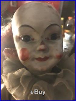 Superbe Clown Automates Ancien